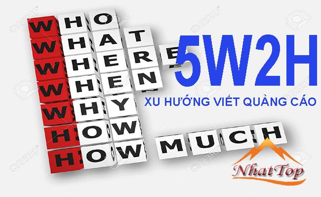 5w2h xu hướng viết quảng cáo mới