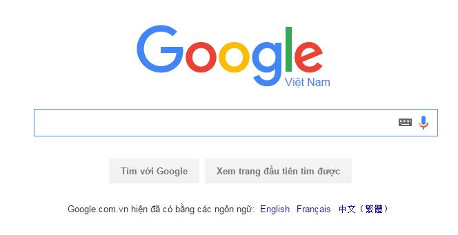 Công cụ tìm kiếm GOOGLE