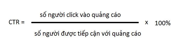 Công thức CTR