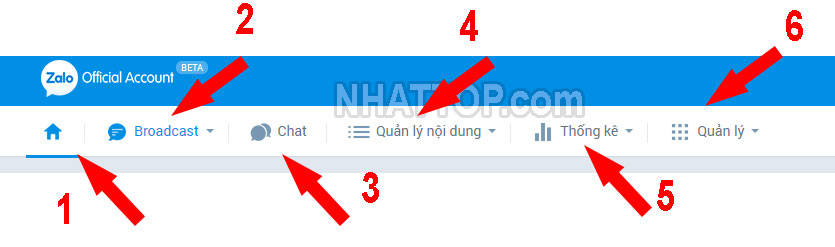 Quản lý Official Account
