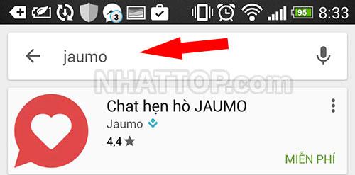 Tìm kiếm ứng dụng JauMo