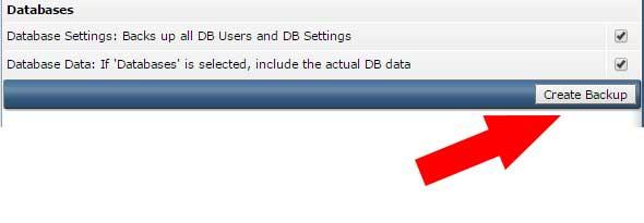 create backup file