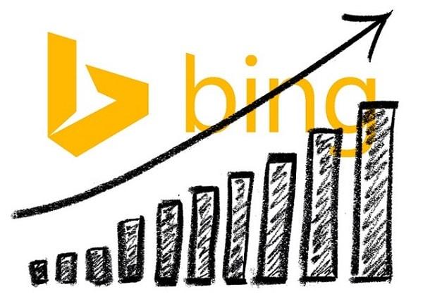 Sự tăng trưởng của Bing