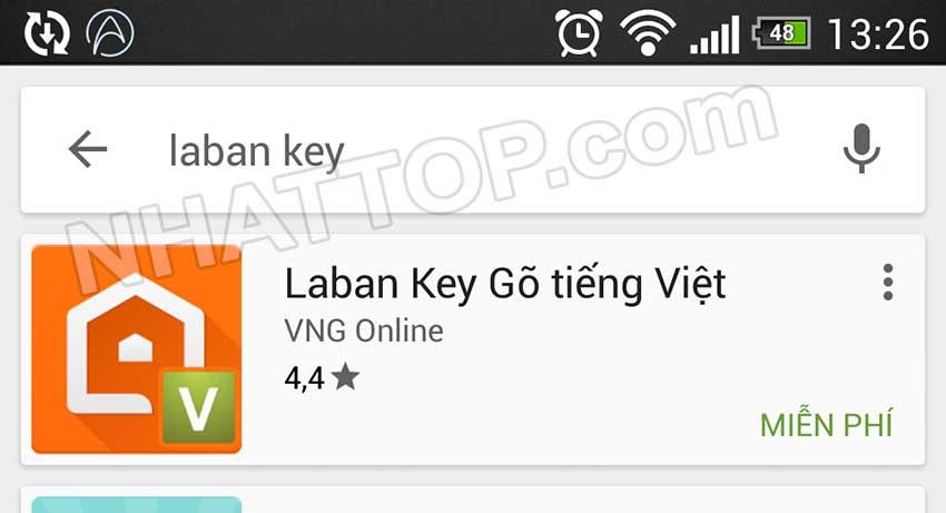 Tìm kiếm laban key