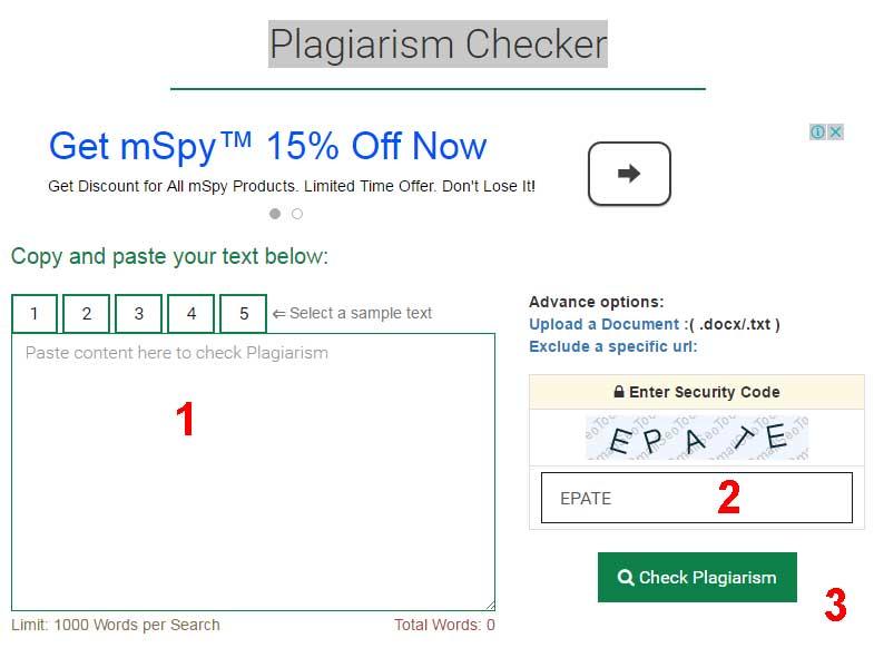 Kiểm tra nội dung trùng lập với Plagiarism Checker