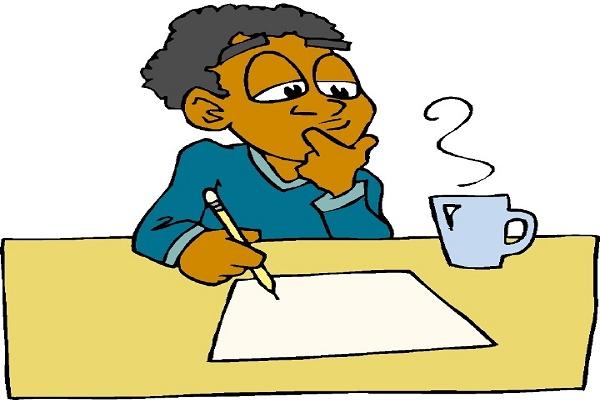 Suy nghĩ để viết bài
