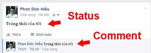 Hiển thị chữ in đậm trên facebook